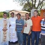 Elevação da Igreja do Senhor dos Aflitos em Santuário