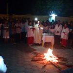 Sábado Santo, Vigília Pascal - Paróquia São Gonçalo - Mansidão