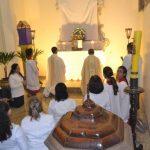 Quinta-feira Santa, Lava-pés e Santa Ceia - Catedral São João Batista - Barreiras