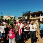 Domingo de Ramos - Paróquia Santa Cruz - Barreiras