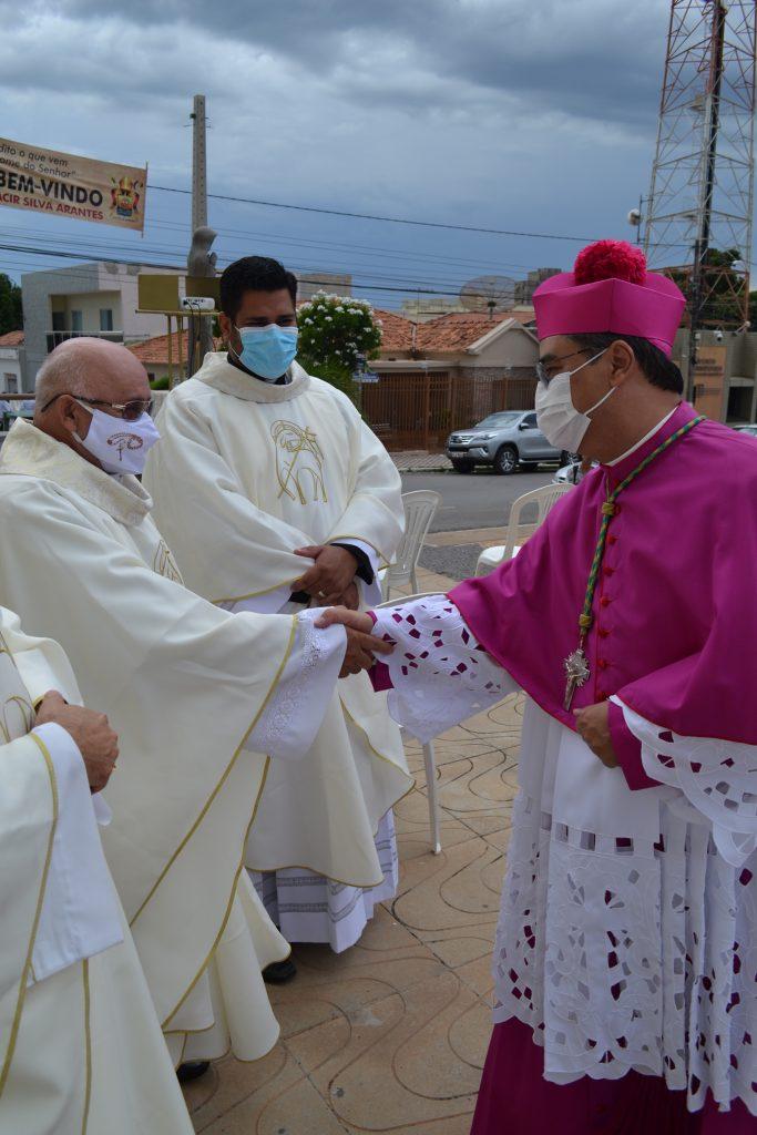 Dom Moacir Silva Arantes, novo bispo da Diocese de Barreiras toma posse